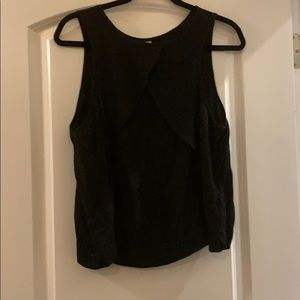 Free people top with open chest
